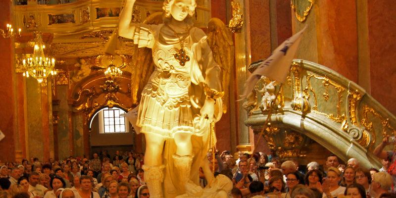 Ze św. Michałem na Jasną Górę