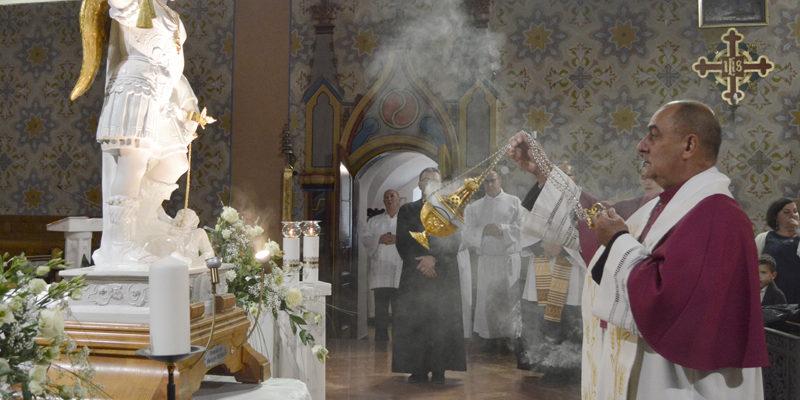 Michał Archanioł w kolskiej farze